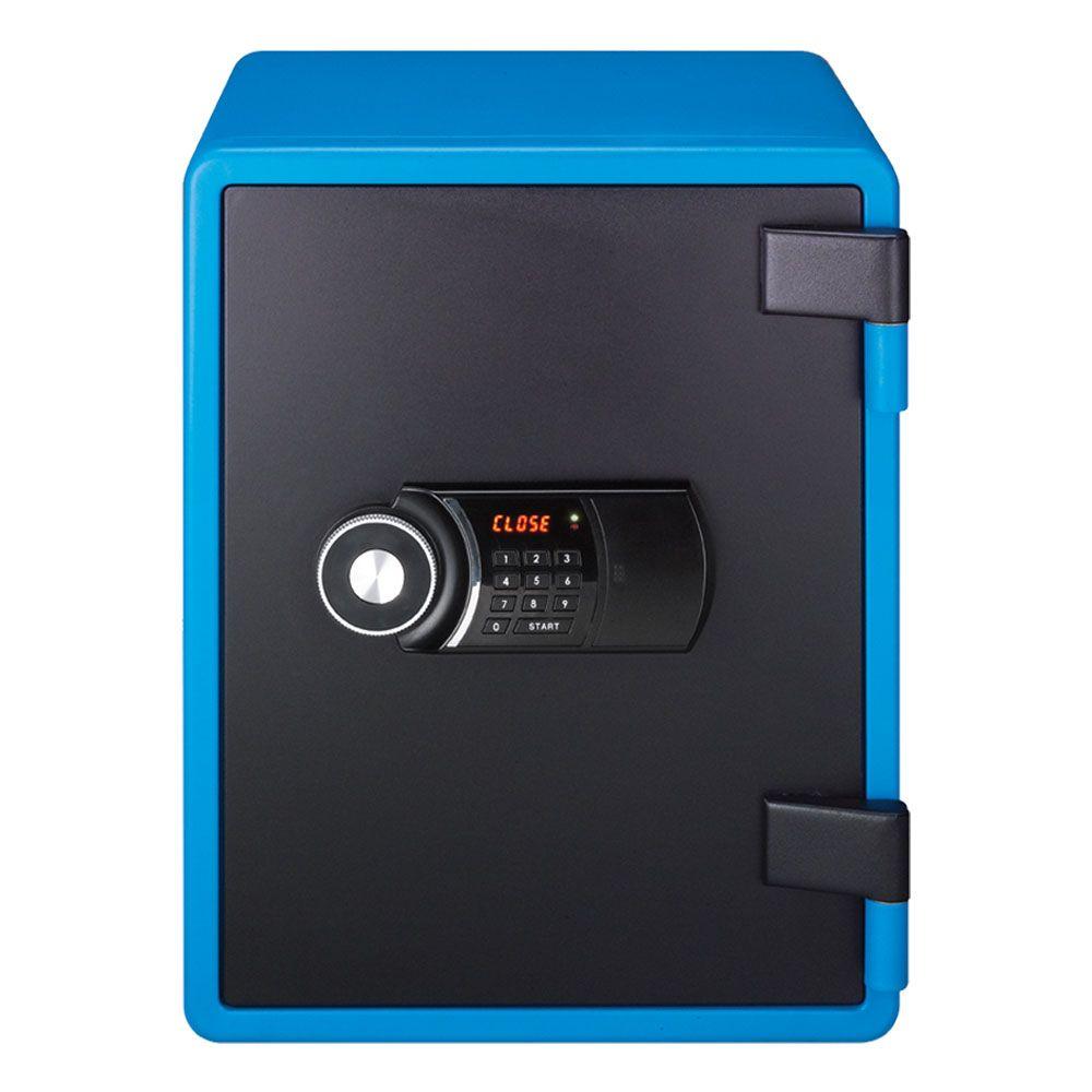 cles sun large brandschutztresor blau tresor online shop 538 33 chf. Black Bedroom Furniture Sets. Home Design Ideas