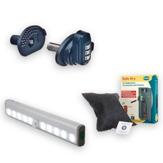 Savings package 2: LED-illumination + Safe Dry dehumidifier + GunControl gun lock