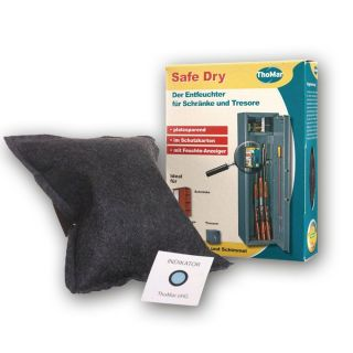 Savings package: LED-illumination + Safe Dry dehumidifier + heat resistant document  case
