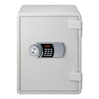 CLES sun LARGE fire resistant safe white