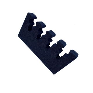 Gun mounting made from foam for 4 guns, width: 240mm