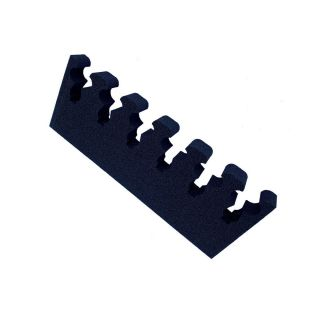 Gun mounting made from foam for 6 guns, width: 324mm