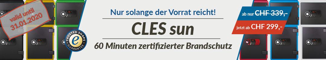 Sale - CLES sun fire resistant safe