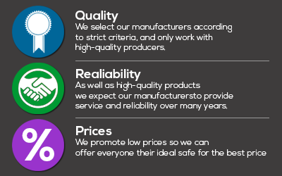 Quality - Reliability- Affordable prices: Our Manufacturers, Your Benefits