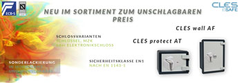 Neue Modelle: CLES protect AT & Cles wall AF